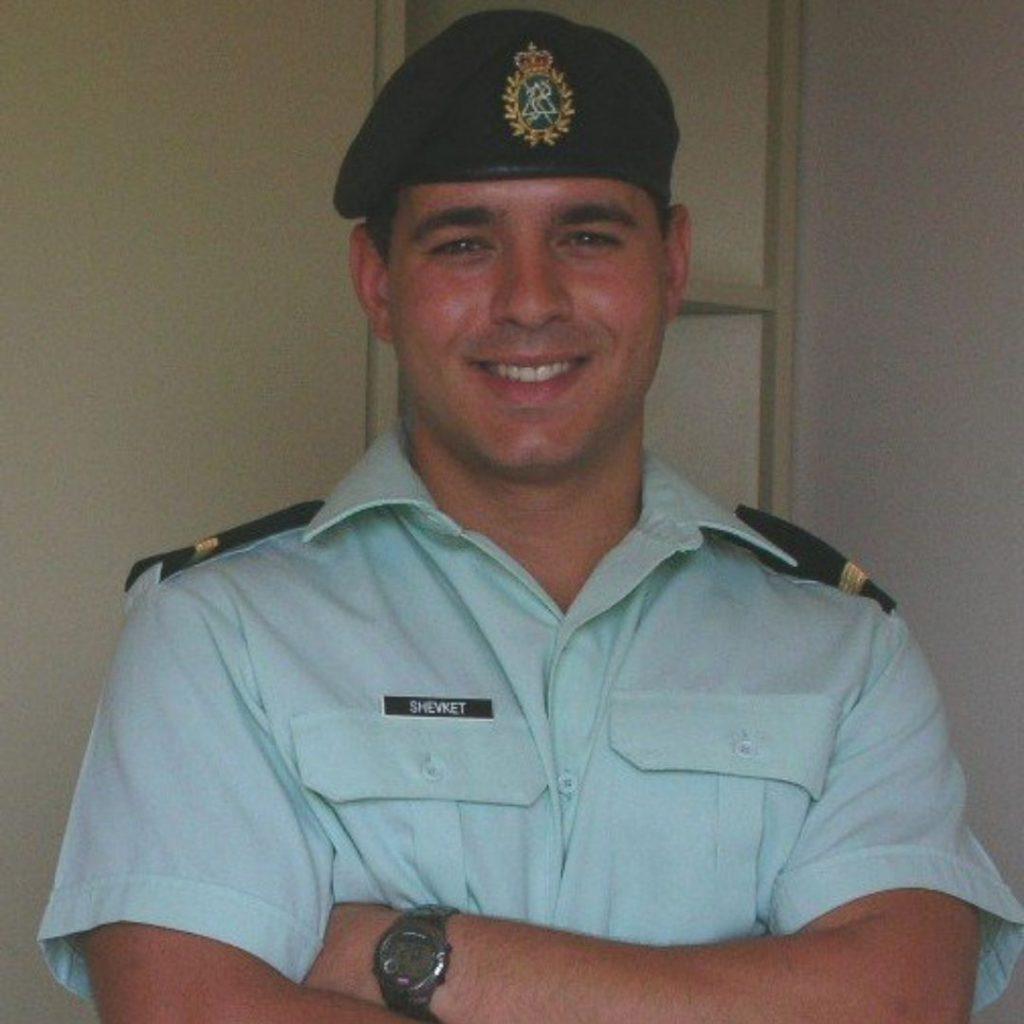 Dr Shevket Military Photo
